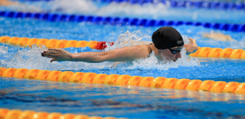 Alys Thomas delivered her fastest time of the year to place seventh in a rapid women's 200m butterfly Olympic final in Tokyo.