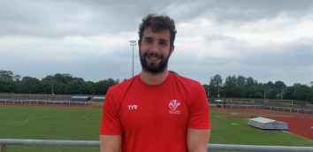 Calum Jarvis - I just couldn't gather my thoughts really as going to an Olympics has been something I've been waiting to achieve for a very long time