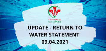 UPDATE - RETURN TO WATER STATEMENT  09.04.2021